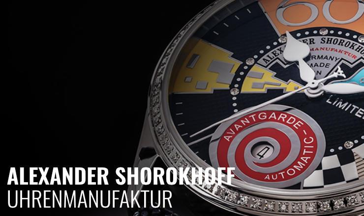 Alexander Shorokhoff Männeruhren