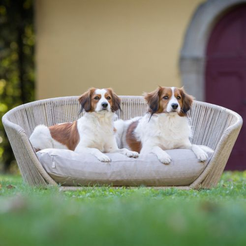 Laboni, Hundebett 'Vogue', Outdoor, Bezug: lino