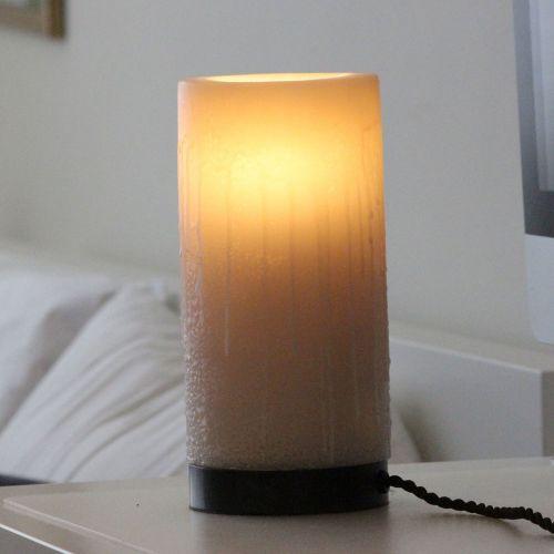 Authentage, Lampenserie 'Bellefeu', Leuchte 'Candle 1L', 3 verschiedene Oberflächen