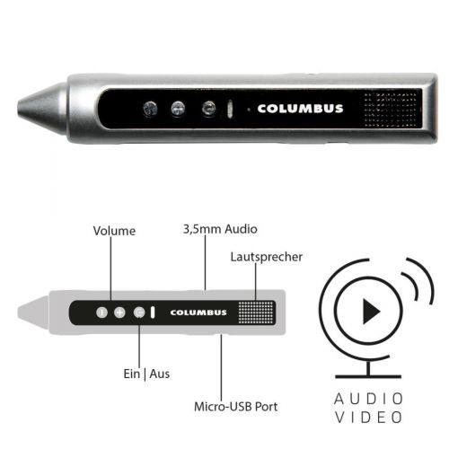 COLUMBUS Audio Video Entdeckerstift