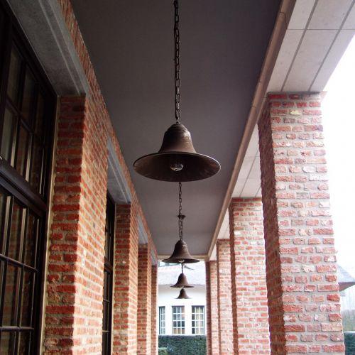 Authentage, Lampenserie 'Elegance', Hängeleuchte 'Pendante with chain', 2 Größen, bronze