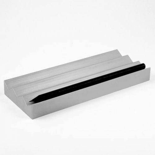 VAU, Modell '3 pencil holder', Stifteablagebox, silber matt
