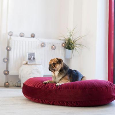 Laboni, Liegekissen 'Luna und Elegance', Indoor, Bezug: burgundy