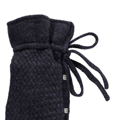 YuYu Wärmflasche, Chelsea Cable Kit 100 % Kaschmir, Farbe anthrazit