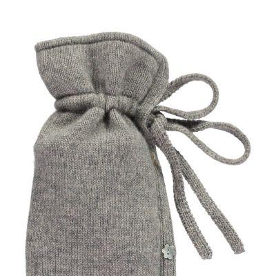 YuYu Wärmflasche, Classic Kit 100 % Kaschmir, Farbe stone
