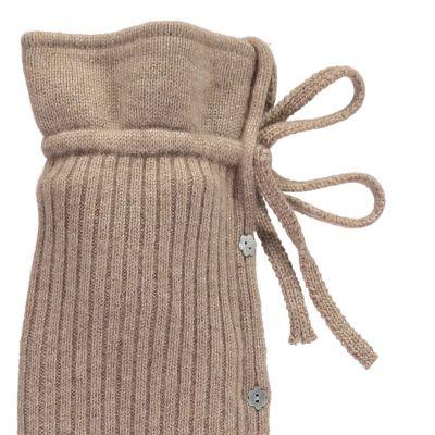 YuYu Wärmflasche, Maifair Cable Kit 100 % Kaschmir, Farbe camel