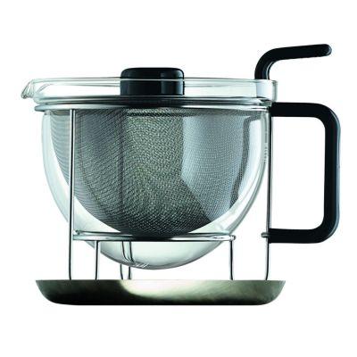 mono classic Teekanne 1,5 Liter mit Tablett