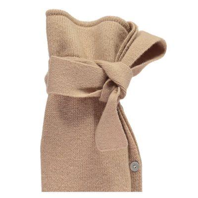 YuYu Wärmflasche Classic, 10 % Kaschmir, 90 % Merinowolle, Farbe beige
