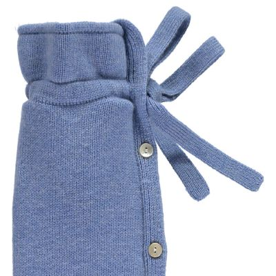 YuYu Wärmflasche Classic, 10 % Kaschmir, 90 % Merinowolle, Farbe blau