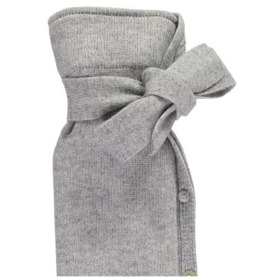 YuYu Wärmflasche Classic, 10 % Kaschmir, 90 % Merinowolle, Farbe grau
