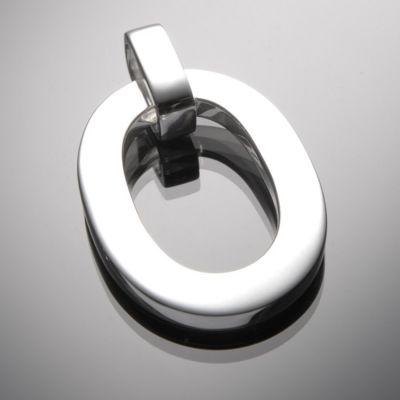 Grosse Jewels, Anhänger 'OH', 925 Silber