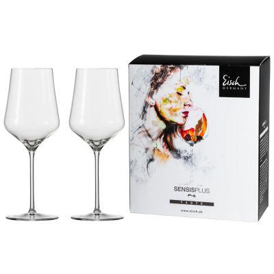 Eisch, Serie Sky Sensis Plus, Rotweinglas 518/2, 2 Stück im Geschenkkarton