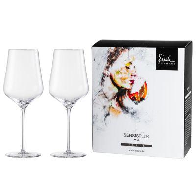 Eisch, Serie Sky Sensis Plus, Bordeaux Rotweinglas 518/21, 2 Stück im Geschenkkarton