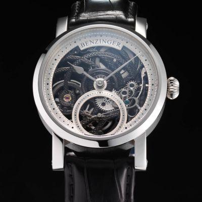 Jochen Benzinger, 3/4 Skelett Black Rose Engine, Herrenarmbanduhr
