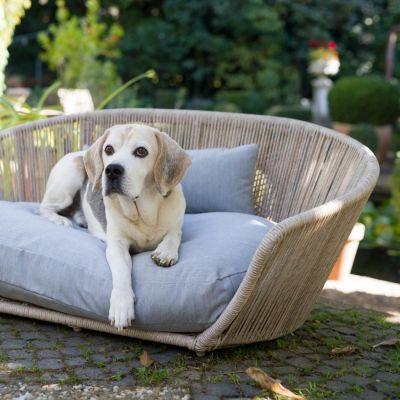 Laboni, Hundebett 'Vogue', Outdoor, Bezug: grigio