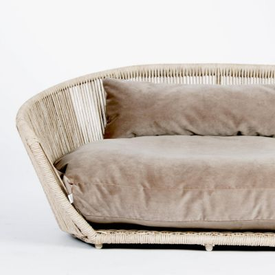 Laboni, Hundebett 'Vogue', Indoor, Bezug: taube
