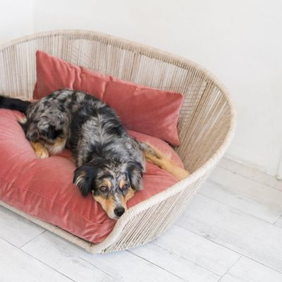 Laboni, Hundebett 'Vogue', Indoor, Bezug: romantic rose