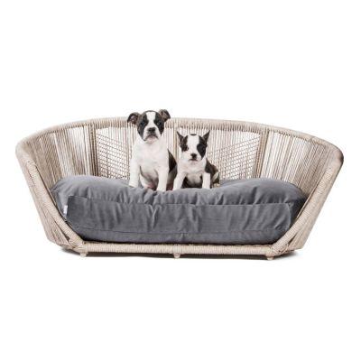 Laboni, Hundebett 'Vogue', Indoor, Bezug: anthrazit