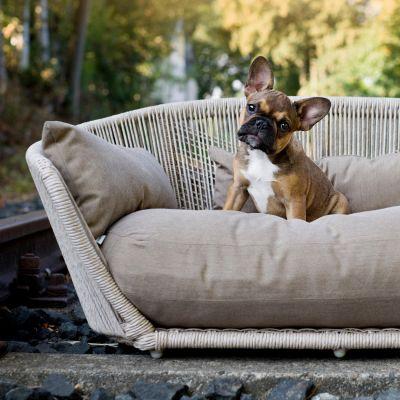 Laboni, Hundebett 'Vogue', Outdoor, Bezug: fango