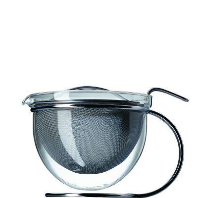 mono filio, Teekanne mit rundem Gestell, 1,5 Liter