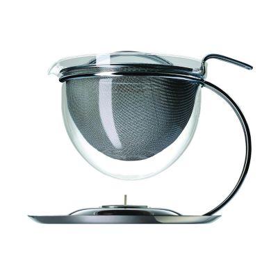 mono filio, Teekanne, 1,5 Liter mit integriertem Stövchen