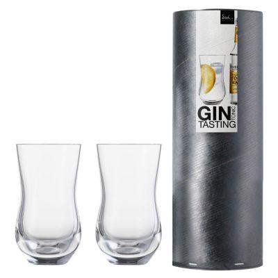 Eisch, Serie Spirits Exclusiv, Gin & Tonic Gläser 519/61, 2 Stück in Geschenkröhre