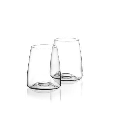 Zieher, Glasserie Vision, Wasserglas 'Side', Geschenkset mit 2 Gläsern
