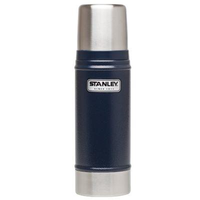 Stanley, Thermosflasche classic, Edelstahl, 470 ml, navy blau
