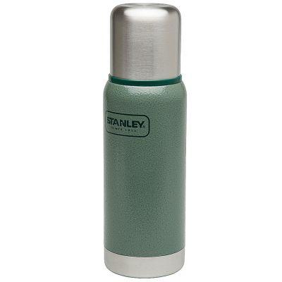 Stanley, Thermosflasche Adventure, Edelstahl, 0,503 Liter, Hammerschlag grün