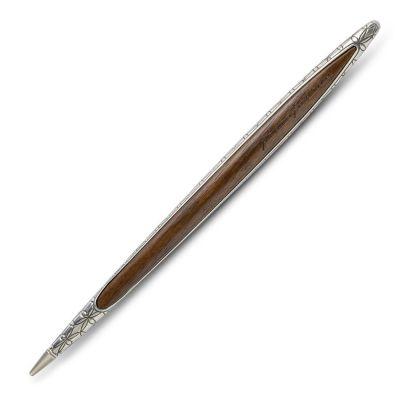Pininfarina, limitierte Luxury-Edition, Pininfarina Stift 'Cambiano', 925 Silber, mit Ethergraph®-Spitze
