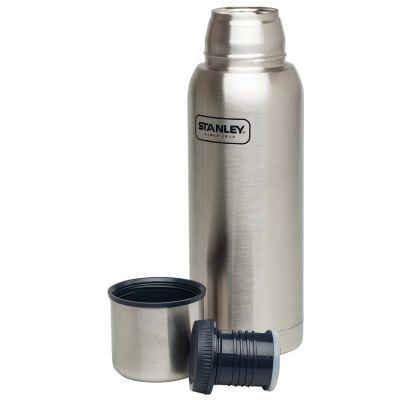 Stanley, Thermosflasche Adventure, Edelstahl gebürstet, 1 Liter