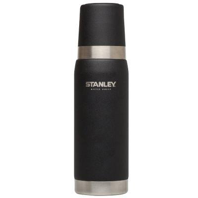 Stanley, Thermosflasche Master, Quad Vac, 0,750 Liter, matt schwarz