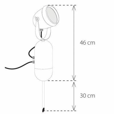 Authentage, Lampe 'CDM-R' für Außenstrahler,'Power Projector', 35 oder 70 Watt, verschiedene Abstrahlrichtungen