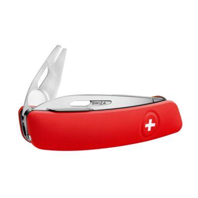 Swiza Tick Tool, Schweizer Taschenmesser, Griffschale rot