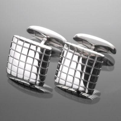 Grosse Jewels, Manschettenknöpfe 'Schogetten', 925 Silber