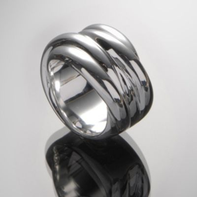 Grosse Jewels, Ring 'Pacific', 925 Silber
