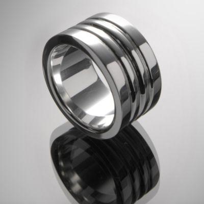 Grosse Jewels, Ring 'Schraube', 925 Silber