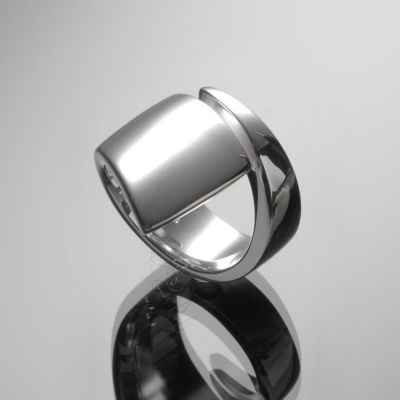 Grosse Jewels, Ring 'Spirale', 925 Silber
