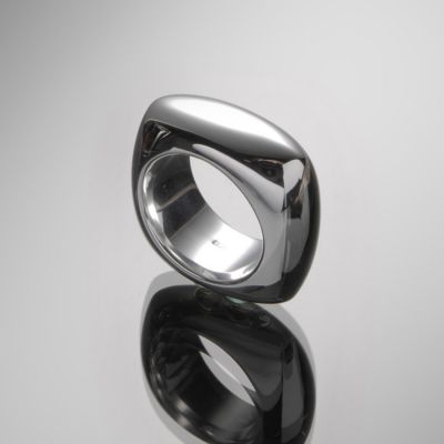 Grosse Jewels, Ring 'Square', 925 Silber