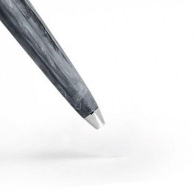 Visconti, Kugelschreiber Modell 'Mirage' Horn, grau
