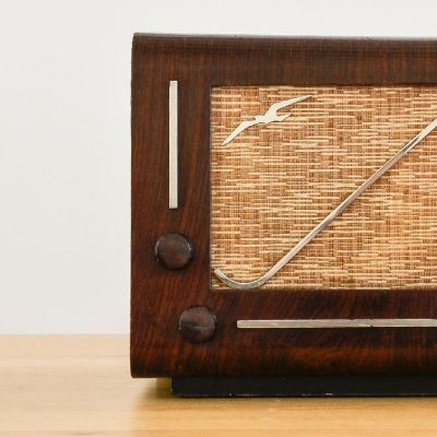 Charlestine, Radio Modell 'GMR TC9 1939', restauriert und modernisiert