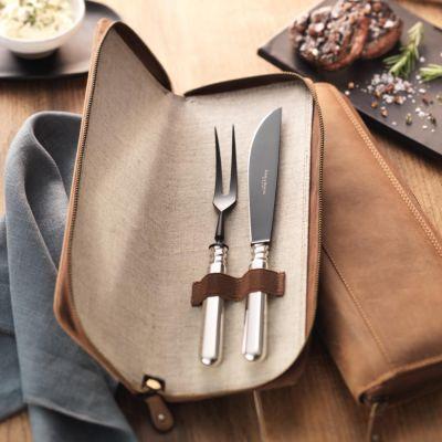 Robbe & Berking, Grillkollektion, Tranchierset 'Alt-Spaten', 925 Sterling Silber oder versilbert