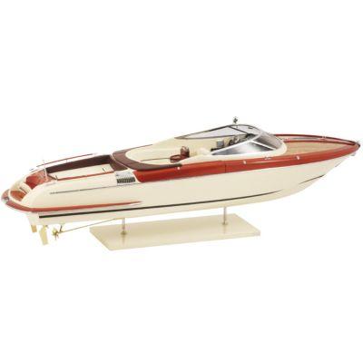 Kiade, Modellboot 'Riva Aquariva Elfenbein' 84 cm, Maßstab 1:12
