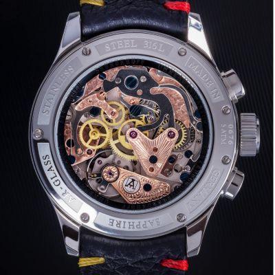 Alexander Shorokhoff, Modell Chrono C01, Handaufzug, Herren Luxusuhr