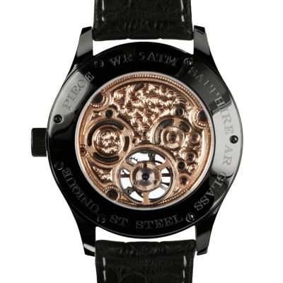 Alexander Shorokhoff, Modell Tourbillon Tomorrow AS.TU2-4, Handaufzug, limitierte Herren Luxusuhr