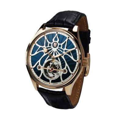 Alexander Shorokhoff, Modell Tourbillon Tomorrow AS.TU55-1TM, Handaufzug, limitierte Herren Luxusuhr
