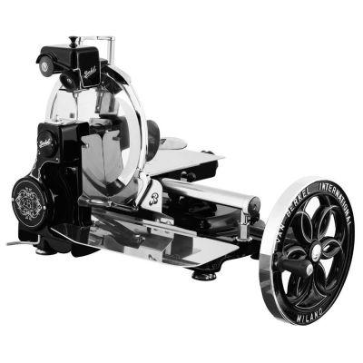 Berkel Aufschnittmaschine mit Schwungrad, Volano B114, Farbe schwarz