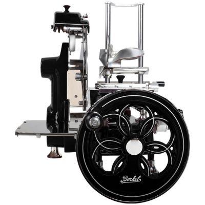 Berkel Aufschnittmaschine mit Schwungrad, Volano B2, Farbe schwarz