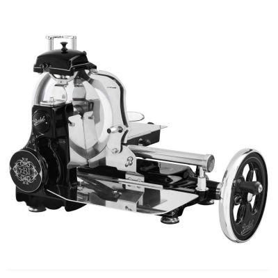 Berkel Aufschnittmaschine mit Schwungrad, Volano Tribute, Farbe schwarz