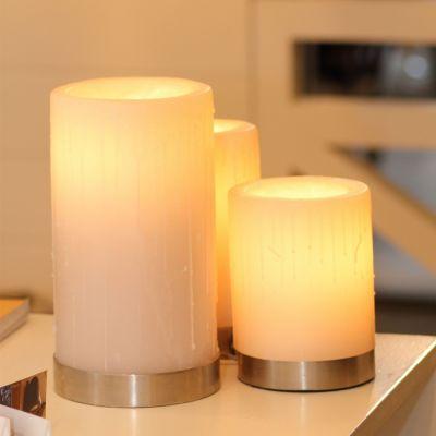 Authentage, Lampenserie 'Bellefeu', Leuchte 'Candle 3L', 3 verschiedene Oberflächen